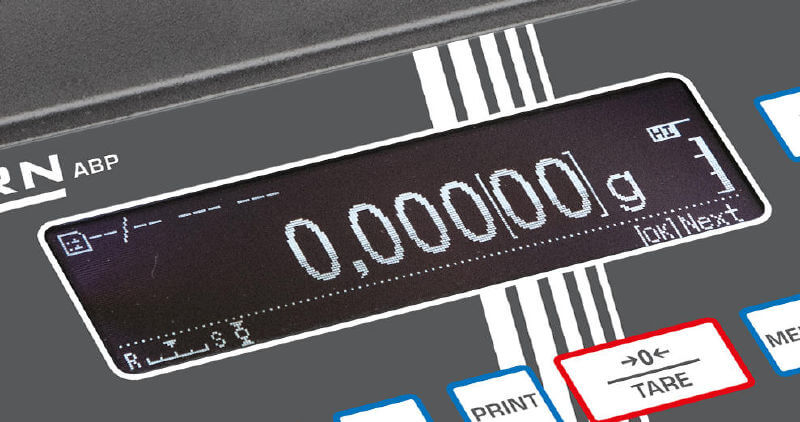 Kern ABP display