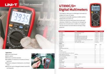 UNI-T UT890 datablad