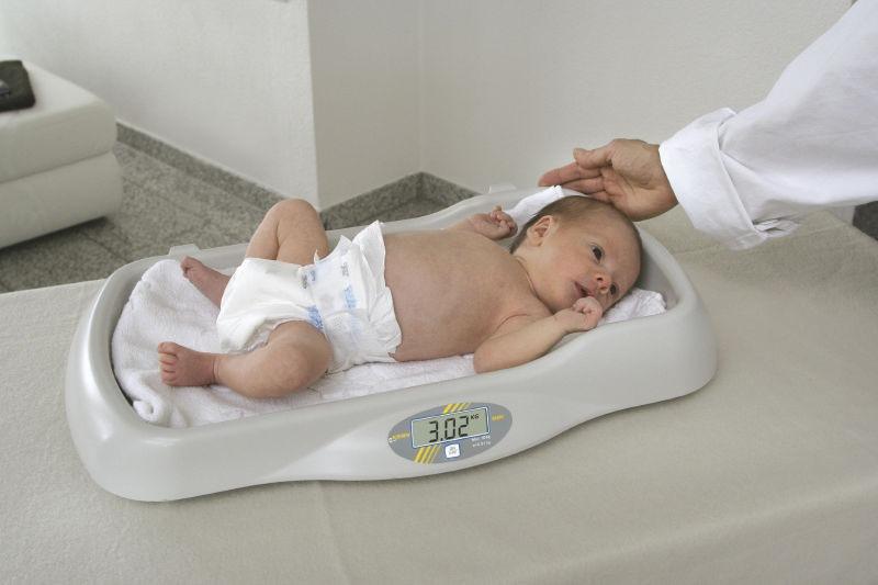 Kern MBE Babyvekt i bruk