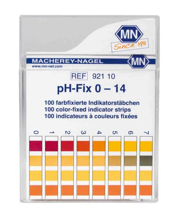 M&N pH-fix indikator test strips