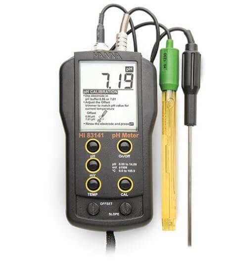 Hanna HI83141 pH, temperatur og ORP-måler