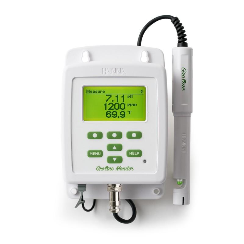 Hanna HI981420 datalogger for pH, TDS, konduktivitet og temperatur