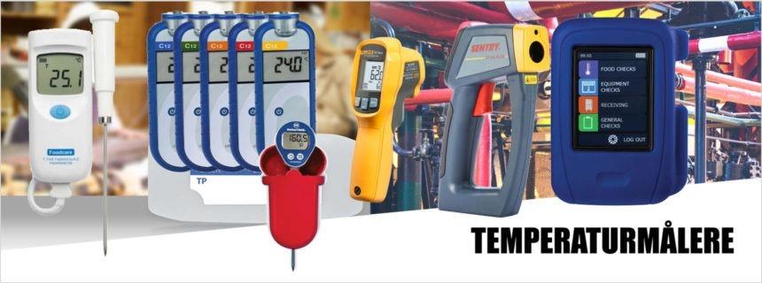 Temperaturmålere