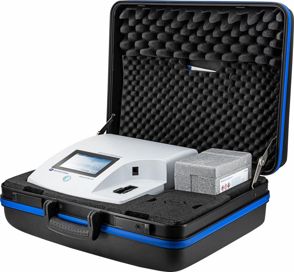M&N 919750 NANOCOLOR Advance spektrofotometer i koffertsett