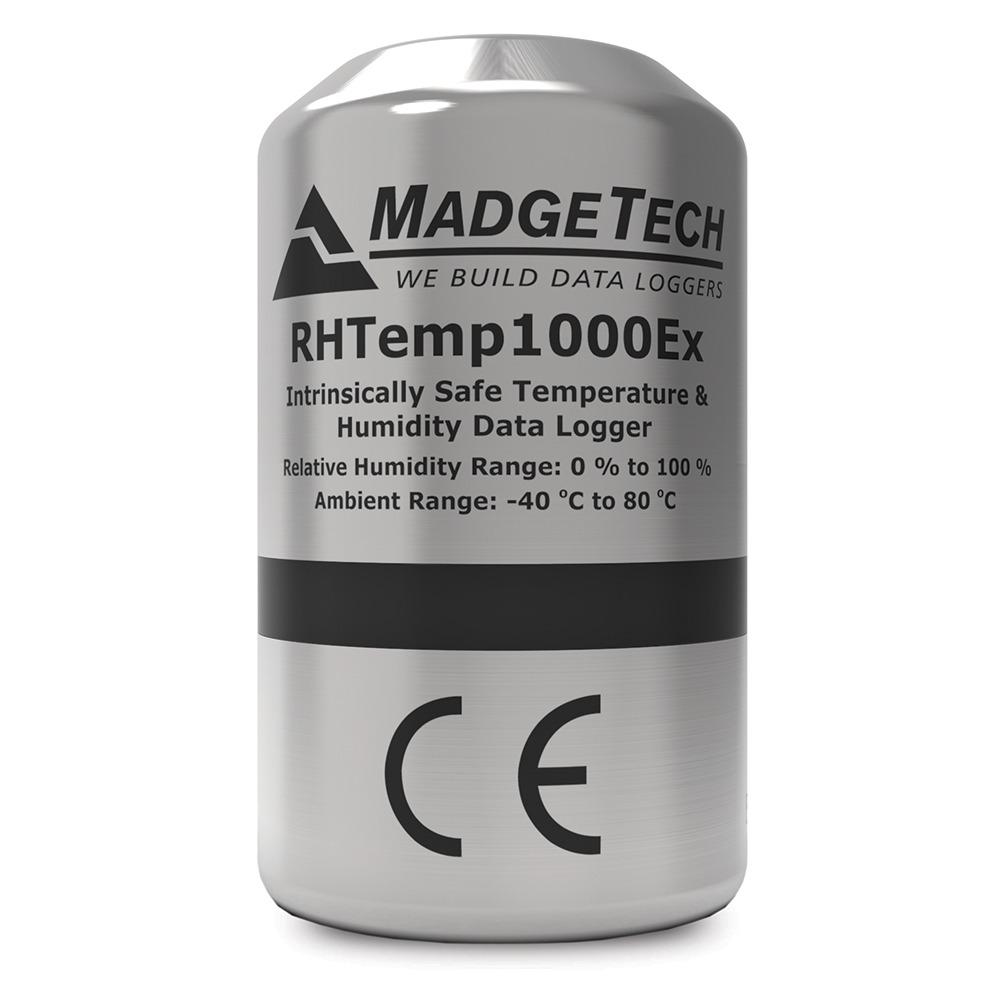 Madgetech RHTemp1000EX ATEX datalogger